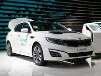 起亚K5 T-Hybrid概念车 巴黎车展发布