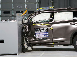 被动安全的考验 新汉兰达中美碰撞测试