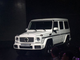 奔驰新款G级正式国内上市 售169.8万元