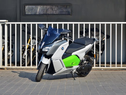 驱动未来通勤 爱卡实拍BMW C evolution