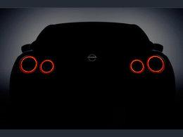 日产新款GT-R预告图 将于纽约车展发布