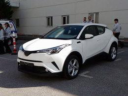 曝丰田C-HR低配版车型 有望2017年国产