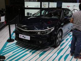 2016北京车展:国产起亚K5混动版亮相