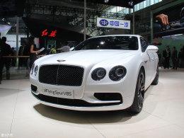 宾利飞驰V8 S车展发布