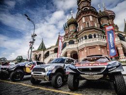 跟AUTO环游世界 标致、锐骐大闹莫斯科