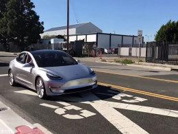 存钱做准备 Model 3已开始最后一轮路试