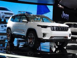 2017上海车展 Jeep云图概念车静态评测
