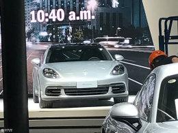 上海车展探馆:保时捷Panamera加长版