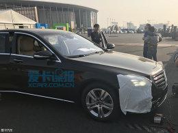 2017上海车展探馆:奔驰新款S级抢先曝光