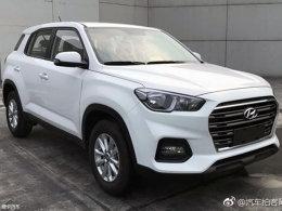 曝北京现代全新ix35申报图 年底前上市