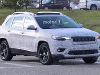 新款Jeep自由光谍照曝光 或底特律亮相