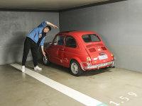 爱卡狗仔队 这是摩纳哥的一座地下车库