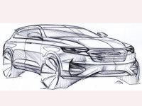 曝众泰全新SUV设计图 或为T600换代车型