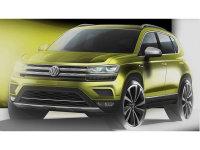 大众全新紧凑型SUV预告图 8月国内上市