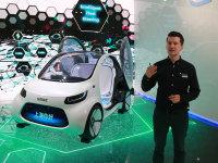 瞰思未来科技驾驶构想 奔驰CES体验日
