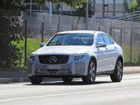 新款奔驰GLC Coupe谍照曝光 外观小调整