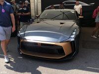 古德伍德速度节:日产GT-R50概念车发布