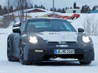 新保时捷911 GT3无伪谍照 或2020年亮相