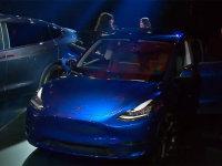特斯拉Model Y新消息 上海车展亚洲首发