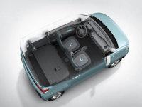 五菱纯电动微型车内饰官图 将年内上市